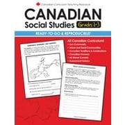 Chalkboard Publishing - Manuel Canadian Social Studies 1-3, 1re à 3e année [livre numérique]