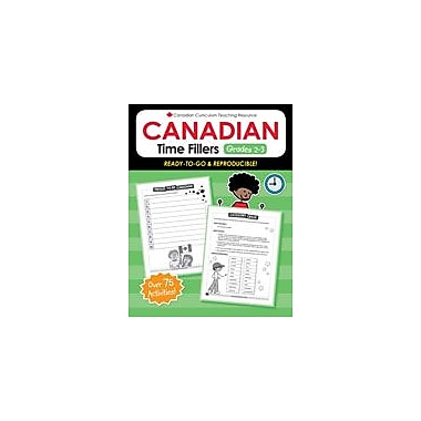 Chalkboard Publishing Canadian Time Fillers 2-3 Workbook, Grade 2 - Grade 3 [eBook]