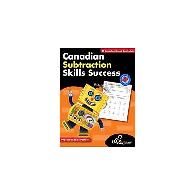Chalkboard Publishing Canadian Subtraction Skills Success Workbook, Grade 1 - Grade 3 [eBook]