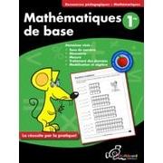 Chalkboard Publishing - Cahier d'exercices Mathématiques de base 1re, 1re année [livre numérique]