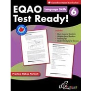 Chalkboard Publishing EQAO Test Ready! Language Skills 6 Workbook, Grade 6 [eBook]