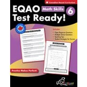 Chalkboard Publishing EQAO Test Ready! Math Skills 6 Workbook, Grade 6 [eBook]