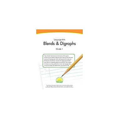 Creative IP Language Arts Grade 1: Blends & Digraphs Workbook By Thompson, Kim, Grade 1 [eBook]