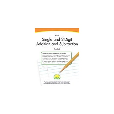 Creative IP Math Grade 2: Single And 2-Digit Addition And Subtraction Workbook By Thompson, Kim, Grade 2 [eBook]