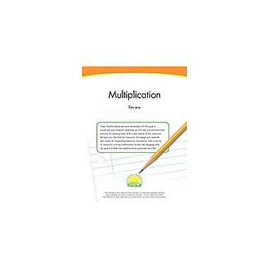 Creative IP Multiplication Review Workbook By Thompson, Kim, Grade 3 [eBook]