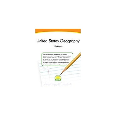 Creative IP United States Geography Worksheets Workbook By Thompson, Kim, Grade 3 - Grade 5 [eBook]
