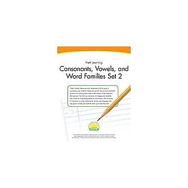 Creative IP Prek Learning: Consonants, Vowels, And Word Families Set 2 Workbook By Thompson, Kim, Preschool [eBook]