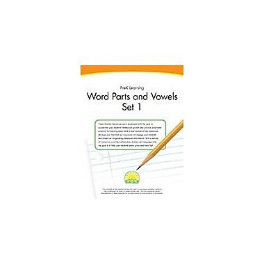 Creative IP Prek Learning: Word Parts And Vowels Set 1 Workbook By Thompson, Kim, Preschool [eBook]