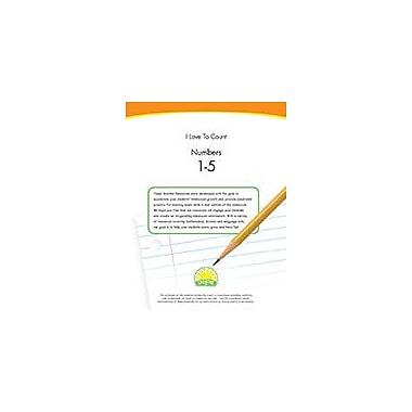 Creative IP I Love To Count: Numbers 1-5 Workbook By Thompson, Kim, Preschool - Kindergarten [eBook]