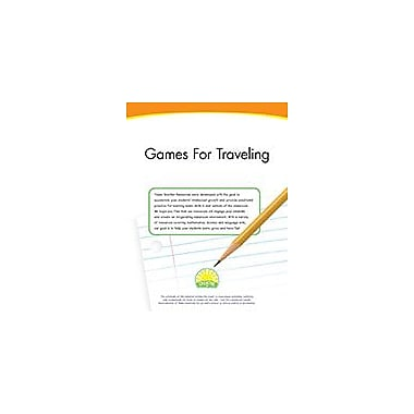Creative IP Games For Traveling Workbook By Thompson, Kim, Preschool - Grade 2 [eBook]