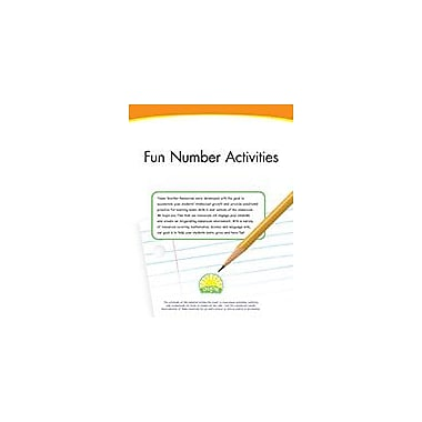 Creative IP Fun Number Activities Workbook By Thompson, Kim, Preschool - Grade 1 [eBook]