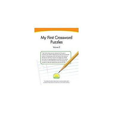 Creative IP My First Crossword Puzzles: Volume 2 Workbook By Thompson, Kim, Preschool - Grade 1 [eBook]