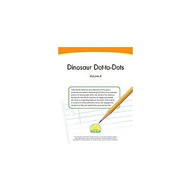 Creative IP Dinosaur Dot-To-Dots: Volume 4 Workbook By Thompson, Kim, Preschool - Grade 1 [eBook]
