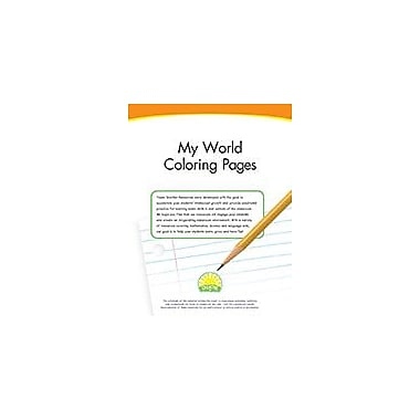 Creative IP My World Coloring Pages Workbook By Thompson, Kim, Kindergarten - Grade 3 [eBook]