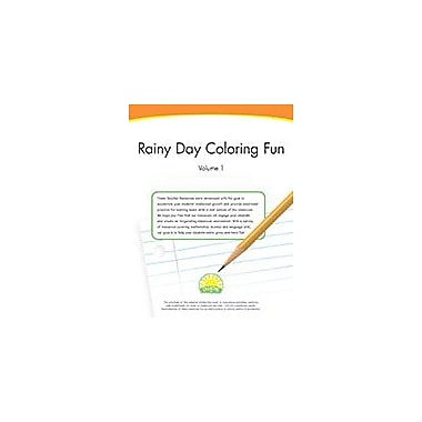 Creative IP Rainy Day Coloring Fun Volume 1 Workbook By Thompson, Kim, Preschool - Grade 2 [eBook]