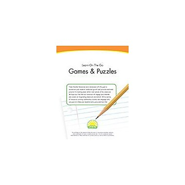 Creative IP Learn On The Go: Games & Puzzles Workbook By Thompson, Kim, Preschool - Grade 2 [eBook]