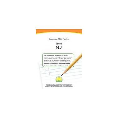 Creative IP Lowercase Abcs Practice: Letters N-Z Workbook By Thompson, Kim, Preschool - Kindergarten [eBook]