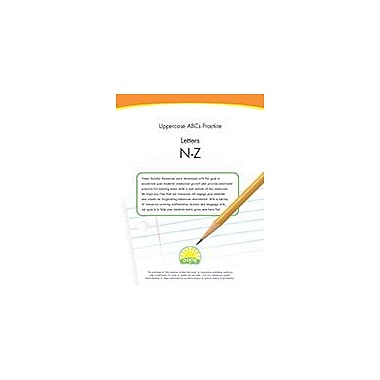 Creative IP Uppercase Abcs Practice: Letters N-Z Workbook By Thompson, Kim, Preschool - Kindergarten [eBook]