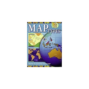 Crabtree Publishing Company Map Types Workbook By Becker, Ann, Grade 1 - Grade 4 [eBook]