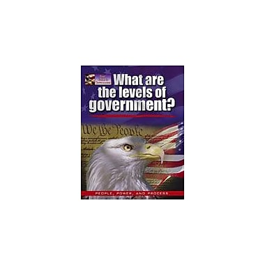 Crabtree Publishing Company What Are The Levels Of Government? Workbook By Bedesky, Baron, Grade 1 - Grade 4 [eBook]