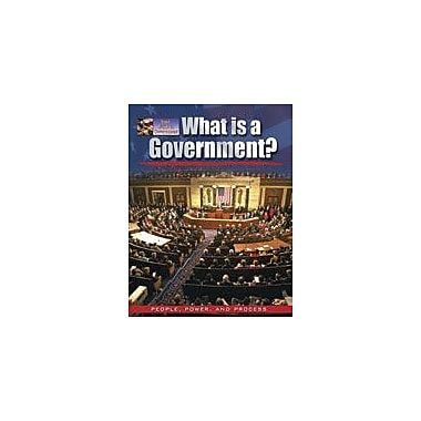 Crabtree Publishing Company What Is A Government? Workbook By Bedesky, Baron, Grade 1 - Grade 4 [eBook]