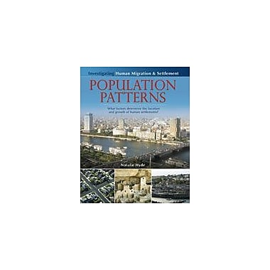 Crabtree Publishing Company Population Patterns Workbook By Hyde, Natalie, Grade 5 - Grade 8 [eBook]
