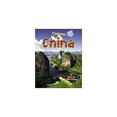 Crabtree Publishing Company Conoce China Workbook By Johnson, Robin, Kindergarten - Grade 3 [eBook]