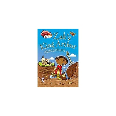 Crabtree Publishing Company Zak's King Arthur Adventure Workbook, Kindergarten - Grade 3 [eBook]