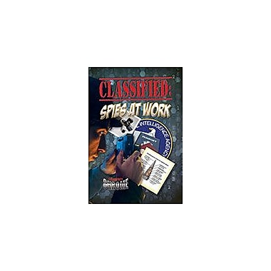 Crabtree Publishing Company Classified: Spies At Work Workbook By Natalie Hyde, Grade 6 - Grade 9 [eBook]