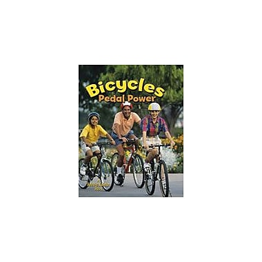 Crabtree Publishing Company Bicycles: Pedal Power Workbook By Peppas, Lynn, Kindergarten - Grade 3 [eBook]