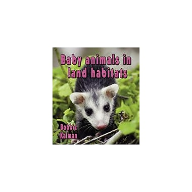 Crabtree Publishing Company Baby Animals In Land Habitats Workbook By Kalman, Bobbie, Kindergarten - Grade 3 [eBook]