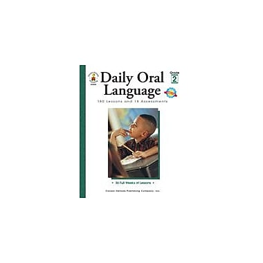 Carson-Dellosa Publishing Daily Oral Language: Grade 2 Workbook By Byers, Gregg O., Grade 2 [eBook]