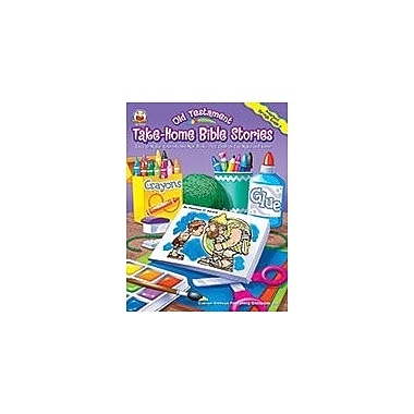 Carson-Dellosa Publishing Old Testament Take-Home Bible Stories, Grades Pk - 2 Workbook, Preschool - Grade 2 [eBook]