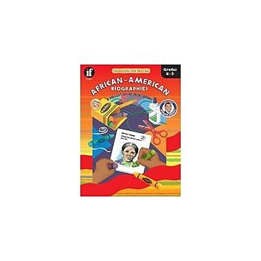 Carson-Dellosa Publishing African-American Biographies Workbook By Levadi, Barbara, Kindergarten - Grade 2 [eBook]