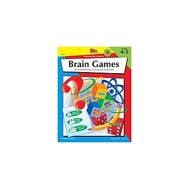 Carson-Dellosa Publishing The 100+ Series Brain Games Workbook By Heidrich, Delana, Grade 4 - Grade 5 [eBook]