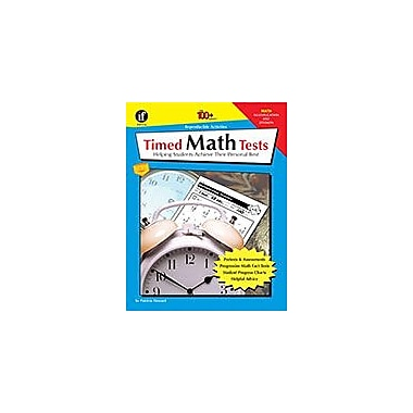 Carson-Dellosa Publishing Timed Math Tests, Multiplication And Division, Grades 2 - 5 Workbook [eBook]