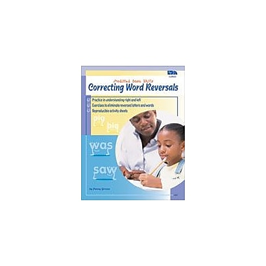 Carson-Dellosa Publishing Correcting Word Reversals Workbook, Kindergarten - Grade 4 [eBook]