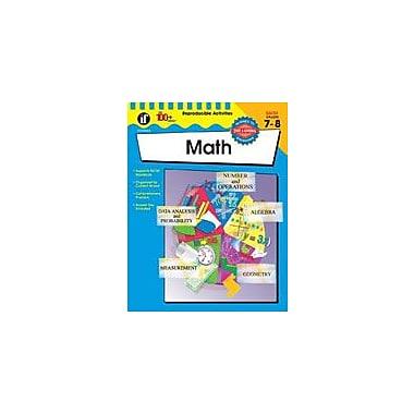 Carson-Dellosa Publishing The 100+ Series Math Workbook, Grade 7 - Grade 8 [eBook]