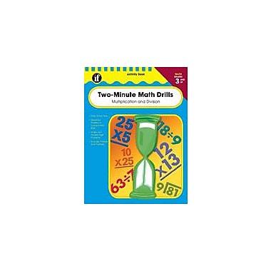 Carson-Dellosa Publishing Two-Minute Math Drills, Grades 3-5 Workbook, Grade 3 - Grade 5 [eBook]