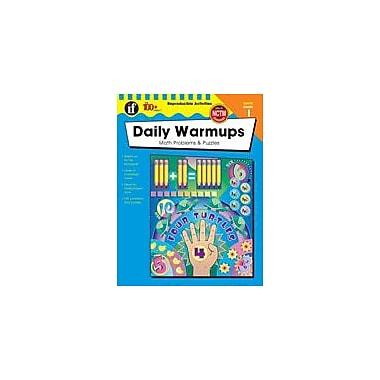 Carson-Dellosa Publishing Daily Warmups Math Problems, Grade 1 Workbook [eBook]