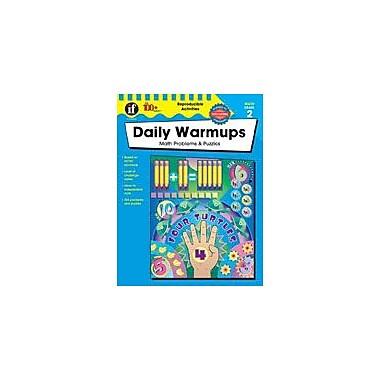 Carson-Dellosa Publishing Daily Warmups Math Problems, Grade 2 Workbook [eBook]