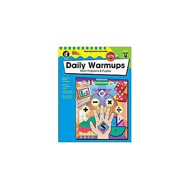 Carson-Dellosa Publishing Daily Warmups Math Problems, Grade 4 Workbook [eBook]