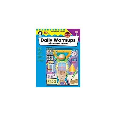 Carson-Dellosa Publishing Daily Warmups Math Problems, Grade 6 Workbook [eBook]