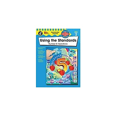Carson-Dellosa Publishing Using The Standards - Number And Operations Workbook By Daniel, Becky, Grade 2 [eBook]