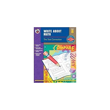 Carson-Dellosa Publishing Write About Math, Grade 8 Workbook [eBook]