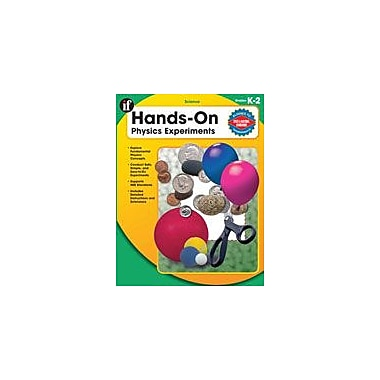 Carson-Dellosa Publishing Hands-On Physics Experiments, Grades K-2 Workbook By Winner, Cherie, Kindergarten - Grade 2 [eBook]