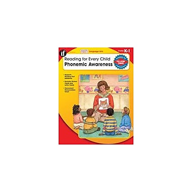 Carson-Dellosa Publishing Reading For Every Child: Phonemic Awareness, K-1 Workbook, Kindergarten - Grade 1 [eBook]