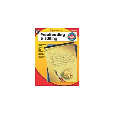 Carson-Dellosa Publishing The 100+ Series Proofreading And Editing, Grade 4 Workbook [eBook]