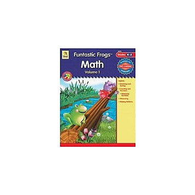 Carson-Dellosa Publishing Funtastic Frogs Math, Volume 1 Workbook, Kindergarten - Grade 2 [eBook]