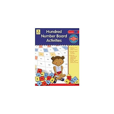 Carson-Dellosa Publishing Hundred Number Board Activities, Grades K-1 Workbook, Kindergarten - Grade 1 [eBook]